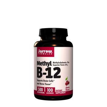 Methyl B-12 5000 Micrograms - Cherry | GNC