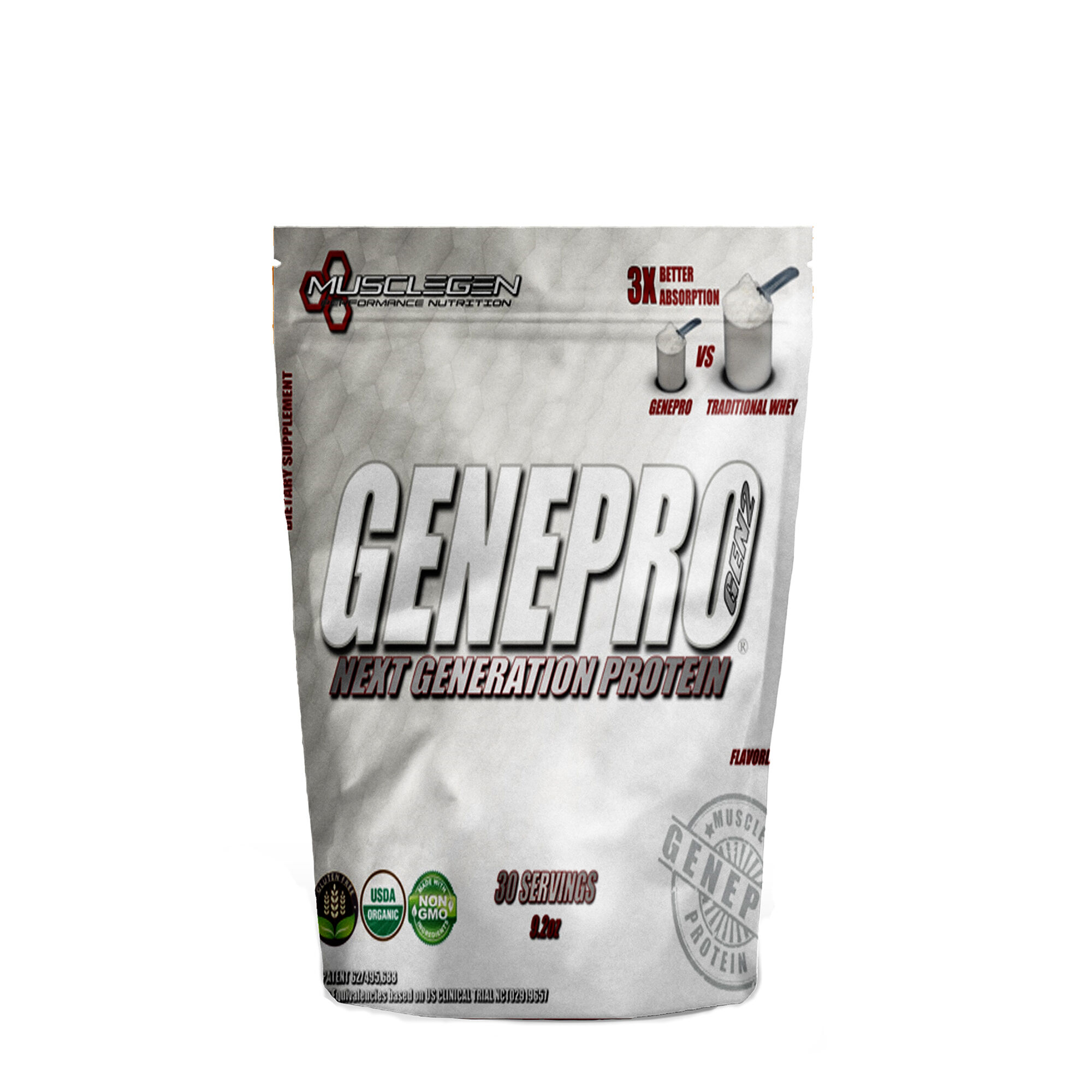 Musclegen Performance Nutrition Genepro Medical Grade Protein