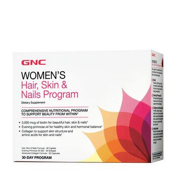 Women's Hair Skin & Nails Program | GNC