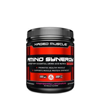 Amino Synergy™ + Caffeine - Raspberry Lemonade | GNC