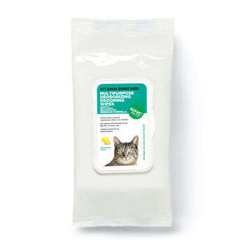 Ultra Deodorizing Grooming Wipes- Energizing Citrus Scent | GNC