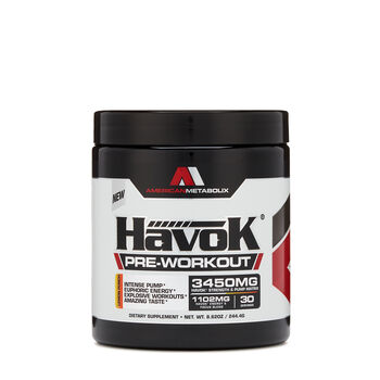HavoK® Pre-Workout - Lemon PunchLemon Punch | GNC