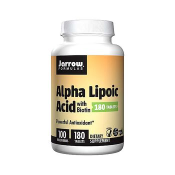 Alpha Lipoic Acid with Biotin - 100 mg | GNC