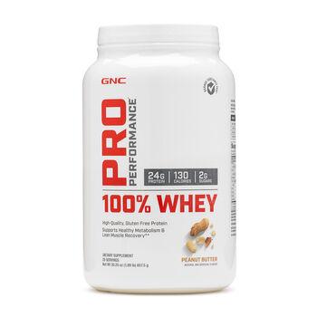 100% Whey - Peanut ButterPeanut Butter | GNC