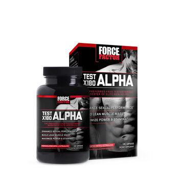 Test X180 ALPHA® | GNC