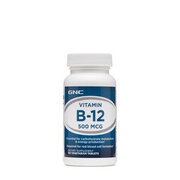 Vitamin B-12 500 MCG | GNC