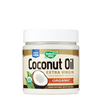 Extra Organic Virgin Coconut Oil | GNC