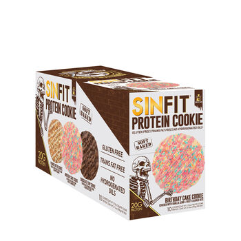 SIN FIT® Protein Cookie - Birthday CakeBirthday Cake | GNC