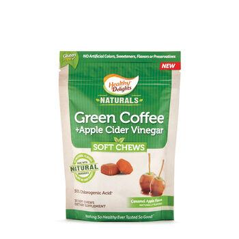 Green Coffee + Apple Cider Vinegar Soft Chews - Caramel Apple | GNC