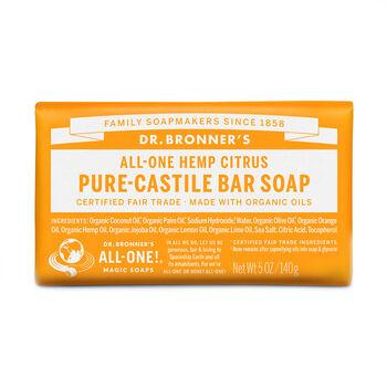 All-One Hemp Citrus Orange Pure-Castile Soap | GNC