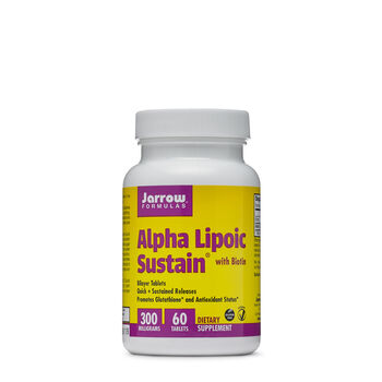 Alpha Lipoic Sustain with Biotin 300 MILLIGRAMS | GNC