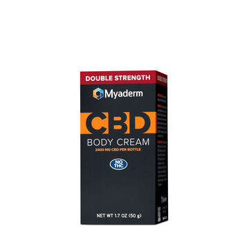 CBD Body Cream Double Strength 2400mg | GNC