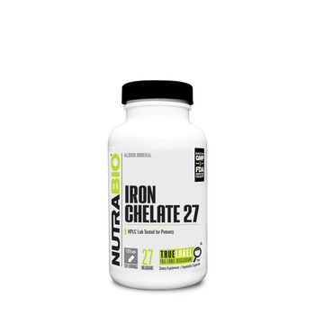 Iron Chelate 27 | GNC