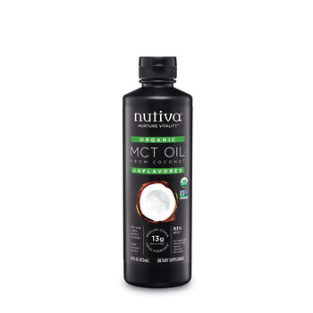 Organic MCT Oil - Unflavored | GNC