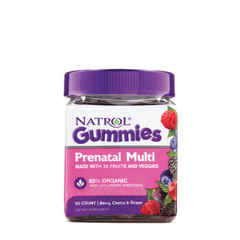 Prenatal Multi Gummies - Berry, Cherry and Grape | GNC