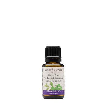 100% Pure Tea Tree & Spearmint | GNC