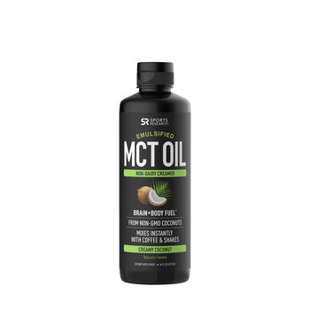 Sports Research™ Emulsified MCT Oil - Creamy Coconut | GNC