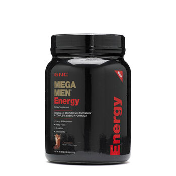 Mega Men® Energy - Chocolate | GNC