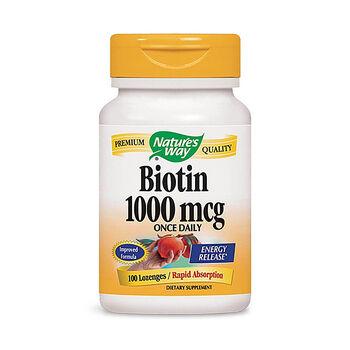 Biotin 1000 mcg - Cherry Flavor | GNC