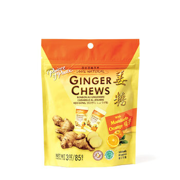 Ginger Chews with Mandarin Orange | GNC