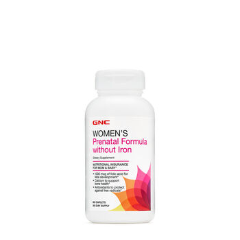 Women's Prenatal Formula without Iron | GNC