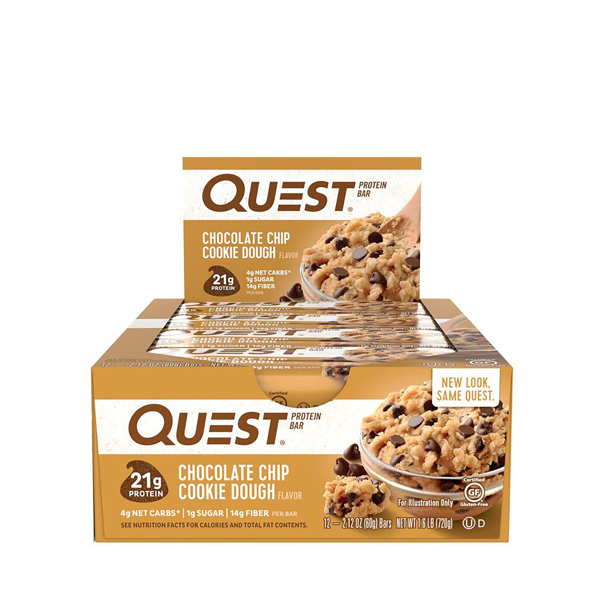 QuestR Quest Bar Chocolate Chip Cookie Dough