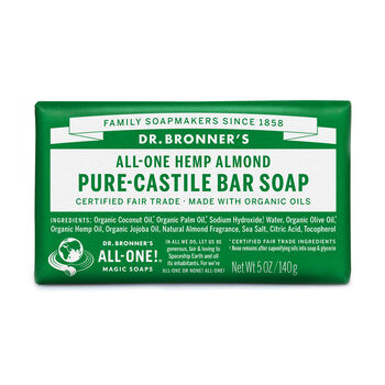 All-One Hemp Almond Pure-Castile Bar Soap | GNC