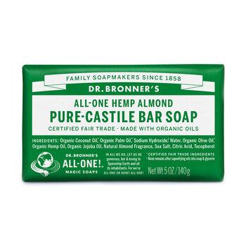 All-One Hemp Almond Pure-Castile Bar Soap | GNC