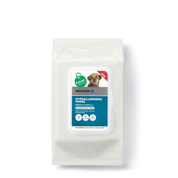 Medicated Hypoallergenic Wipes - Fragrance Free | GNC