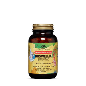 Standardized Full Potency Boswellia Resin Extract (Boswellia serrata) | GNC