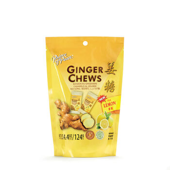 Ginger Chews With Lemon | GNC