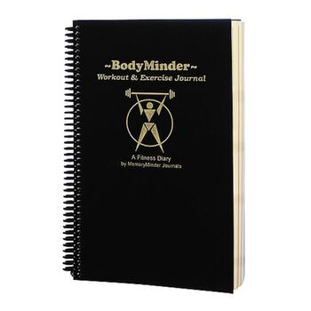 BodyMinder Workout and Exercise Journal | GNC
