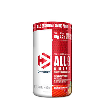 ALL 9 AMINO™ - Orange CranberryOrange Cranberry | GNC