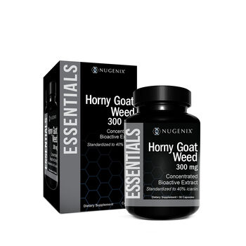 Essentials Horny Goat Weed 300mg | GNC
