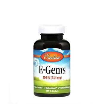 E-Gems® Natural Vitamin E - 200 IU | GNC