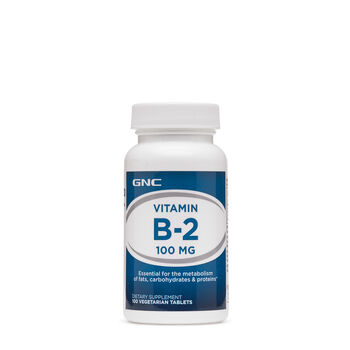 Vitamin B-2 100 MG | GNC