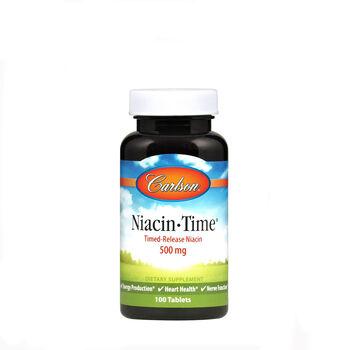 Niacin-Time® 500 mg   GNC