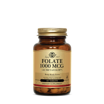 Folate 1000 mcg (Metafolin® 1000 mcg) | GNC