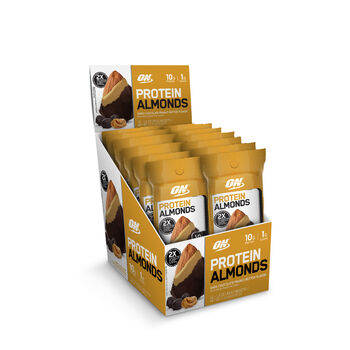 Protein Almonds - Dark Chocolate Peanut ButterDark Chocolate Peanut Butter | GNC