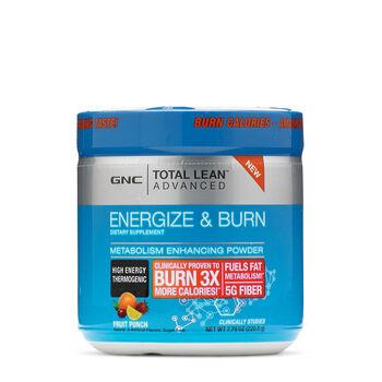 Energize & Burn - Fruit Punch | GNC