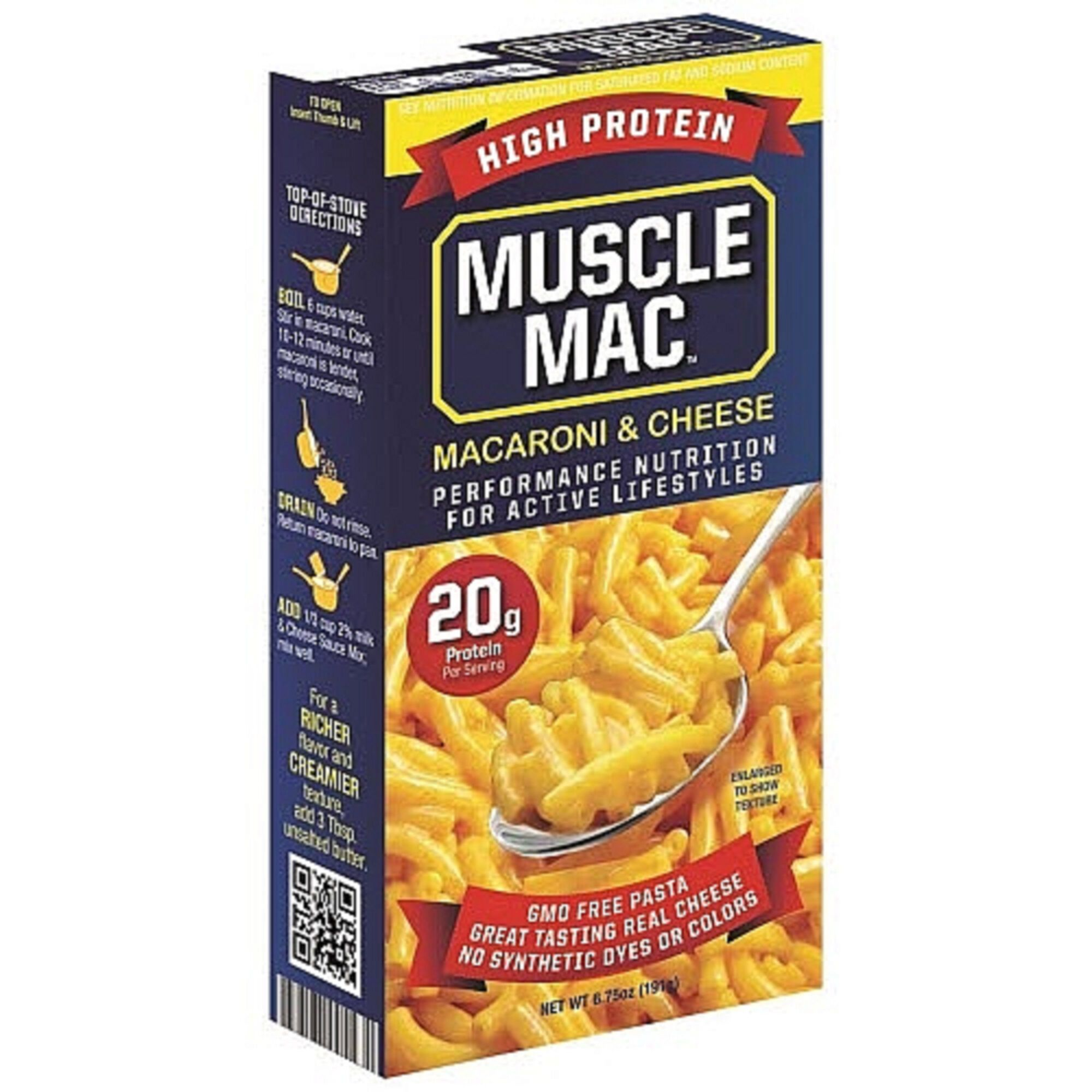 Muscle Mac Macaroni Cheese Gnc