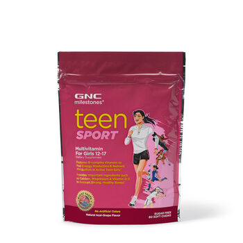 Teen Sport Multivitamin For Girls 12-17 - Acai-Grape | GNC