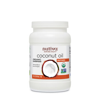 Organic Coconut Oil- Refined | GNC