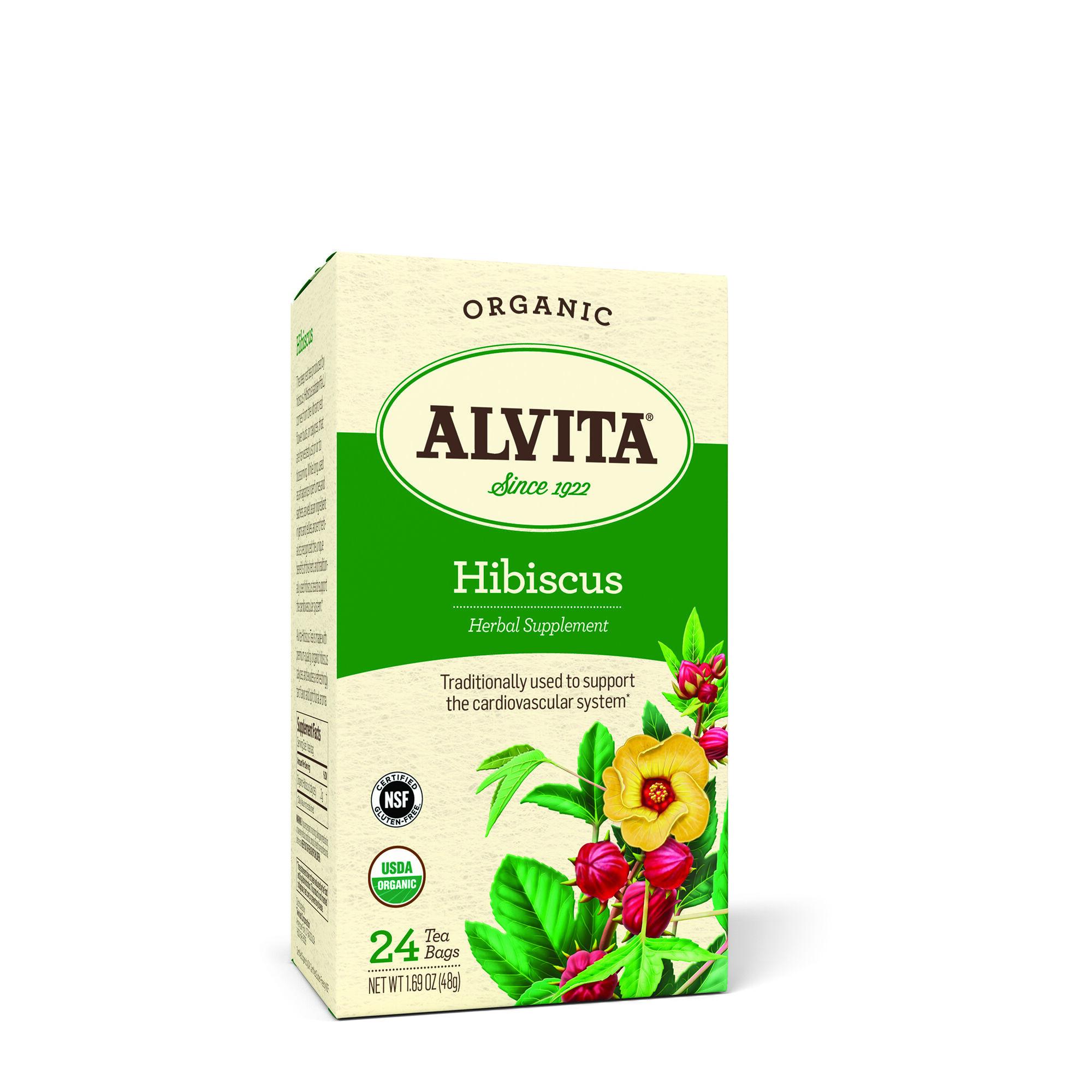 Alvita Organic Hibiscus Tea Gnc