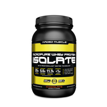 Micropure® Whey Protein Isolate - ChocolateChocolate | GNC