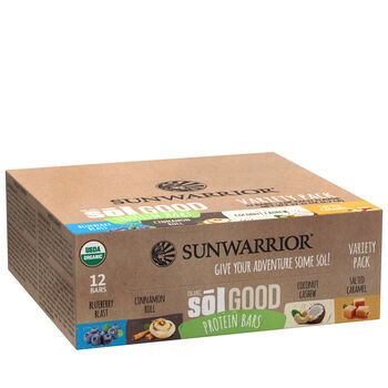 Organic Sōl Good Protein Bars - Variety Pack | GNC