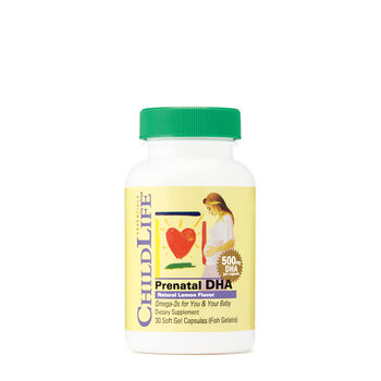 Prenatal DHA - Natural Lemon Flavor | GNC