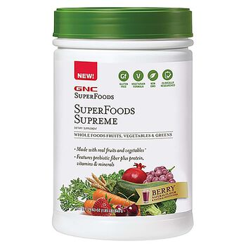 Gnc Superfoods Superfoods Supreme Berry Gnc