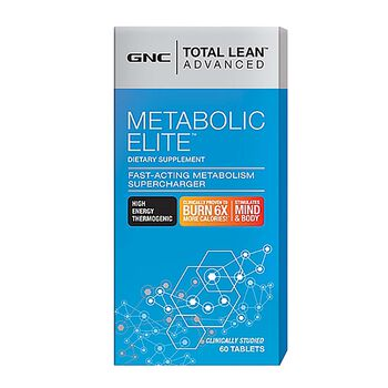 Gnc Total Lean Advanced Metabolic Elite 60 Ct Thermogenic