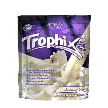 Trophix™ 5.0 Ultra Sustained-Release Protein - Creamy VanillaCreamy Vanilla | GNC
